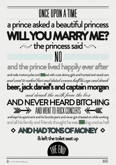 princess said no